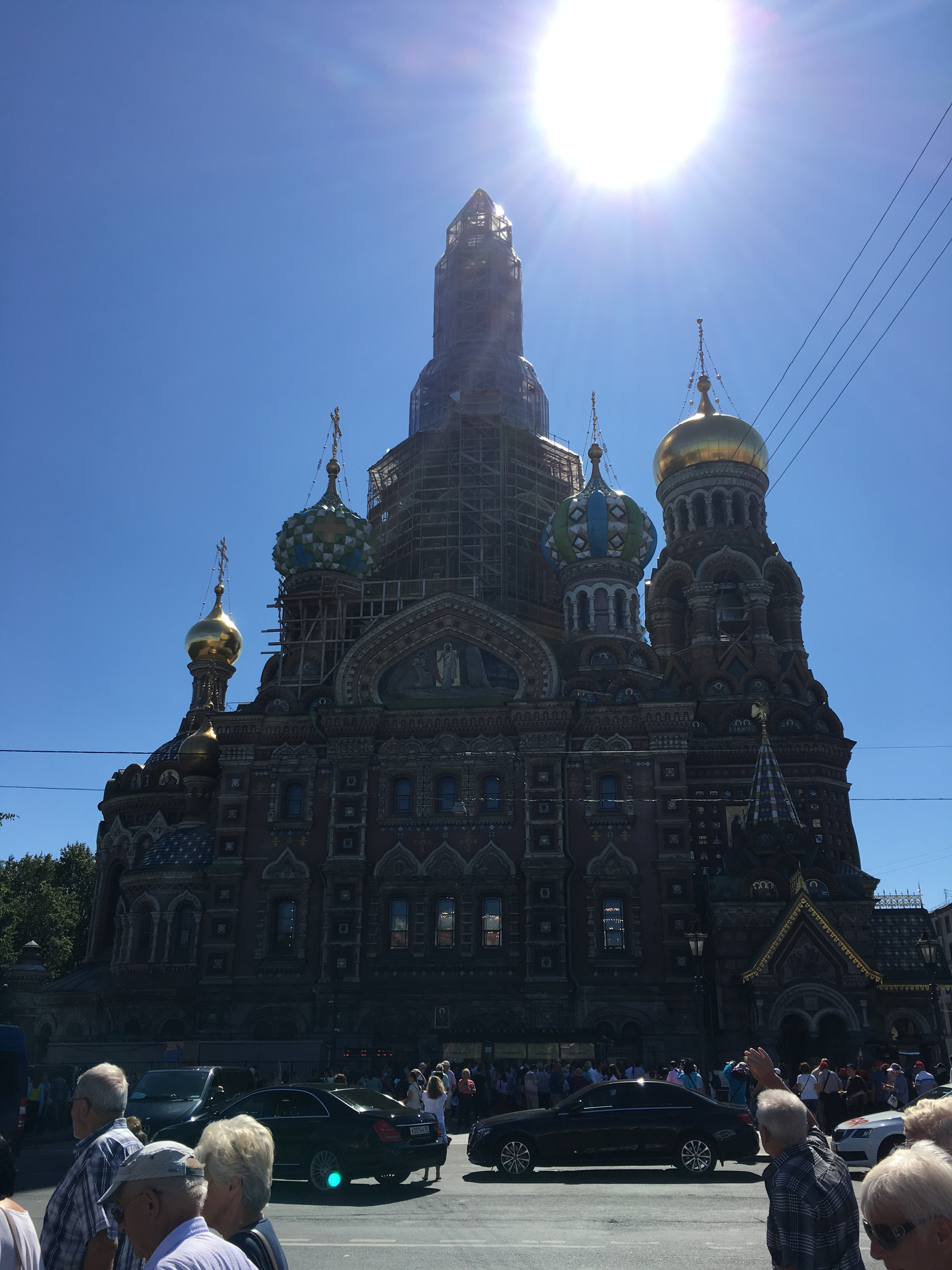 A Day in St Petersburg, Russia